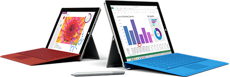 Microsoft Surface Pro tablet repairs